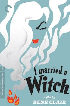 I Married a Witch movie poster.