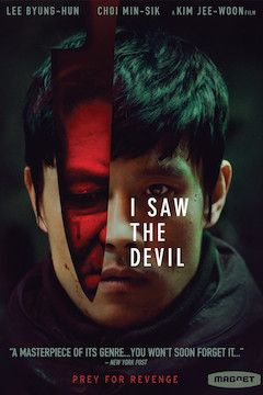 I Saw the Devil movie poster.