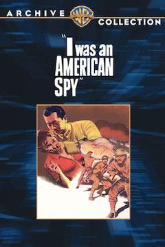 Poster for the movie I Was an American Spy