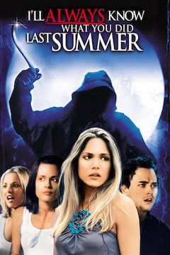 I'll Always Know What You Did Last Summer movie poster.