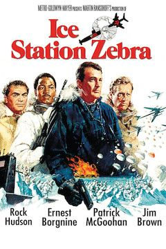 Ice Station Zebra movie poster.