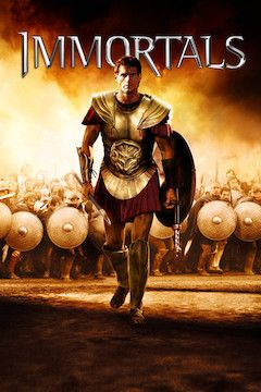 Immortals movie poster.