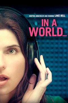 In a World ... movie poster.