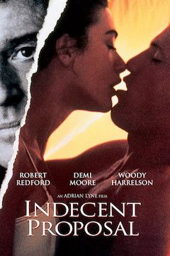 Indecent Proposal movie poster.