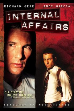 Internal Affairs movie poster.