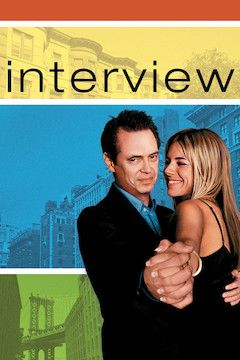 Poster for the movie Interview