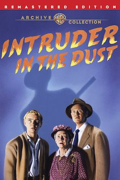 Intruder In the Dust movie poster.