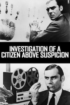 Investigation of a Citizen Above Suspicion movie poster.