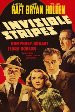 Invisible Stripes movie poster.
