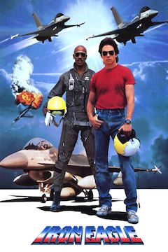 Iron Eagle movie poster.