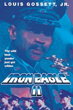 Iron Eagle II movie poster.