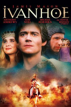 Poster for the movie Ivanhoe