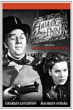 Jamaica Inn movie poster.