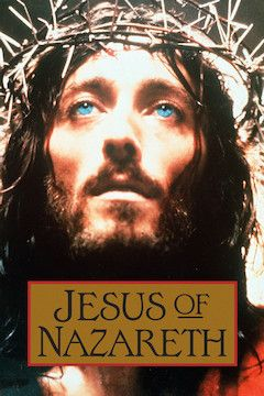 Jesus of Nazareth movie poster.