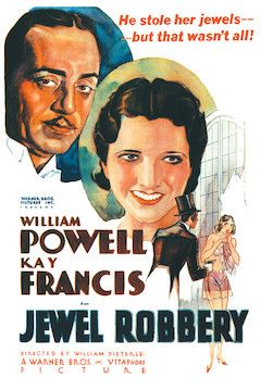 Jewel Robbery movie poster.