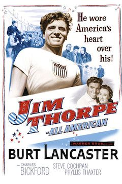 Jim Thorpe - All American movie poster.
