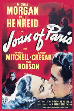 Joan of Paris movie poster.