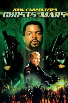 John Carpenter's Ghosts of Mars movie poster.