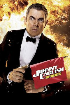 Johnny English Reborn movie poster.
