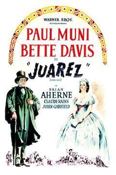 Juarez movie poster.