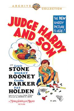 Judge Hardy and Son movie poster.