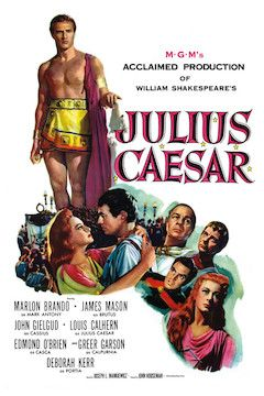 Poster for the movie Julius Caesar