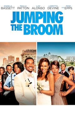 Jumping the Broom movie poster.
