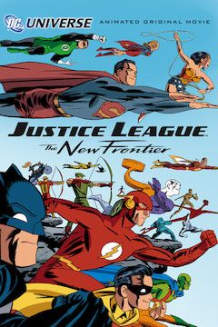 Justice League: The New Frontier movie poster.