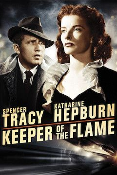 Keeper of the Flame movie poster.