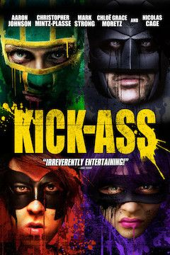 Kick-Ass movie poster.