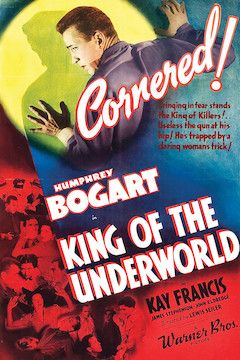 King of the Underworld movie poster.