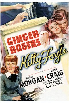Poster for the movie Kitty Foyle