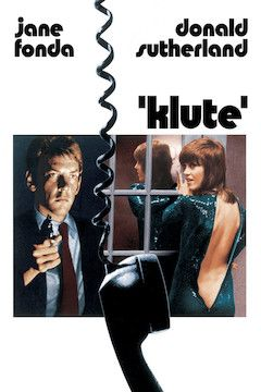 Poster for the movie Klute