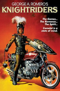 Knightriders movie poster.