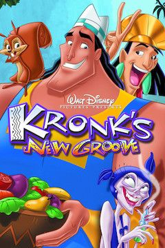 Kronk's New Groove movie poster.