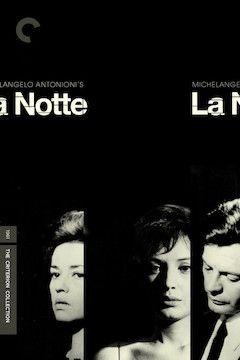 La Notte movie poster.
