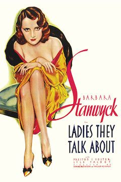 Ladies They Talk About movie poster.