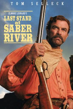 Last Stand at Saber River movie poster.
