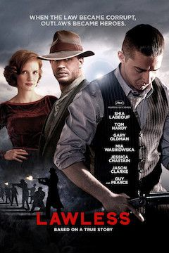 Lawless movie poster.