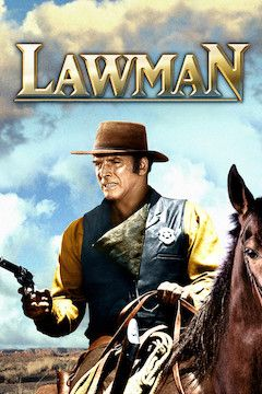 Lawman movie poster.
