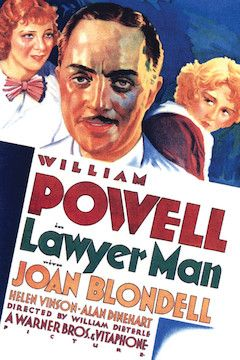 Lawyer Man movie poster.