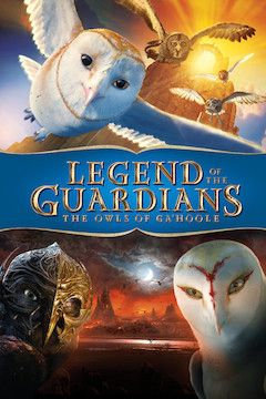 Legend of the Guardians: The Owls of Ga'Hoole movie poster.