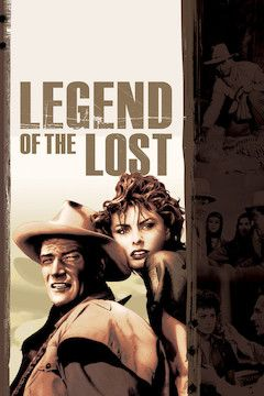 Legend of the Lost movie poster.