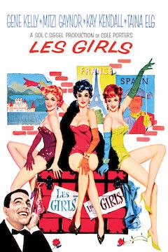 Les Girls movie poster.