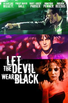 Let the Devil Wear Black movie poster.