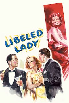 Libeled Lady movie poster.