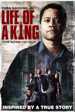 Life of a King movie poster.