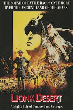 Lion of the Desert movie poster.