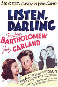 Listen, Darling movie poster.