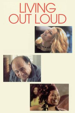 Living Out Loud movie poster.